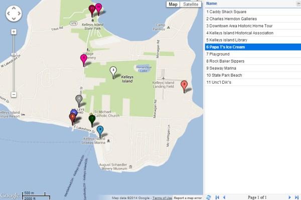 Fun is everywhere on Kelleys Island