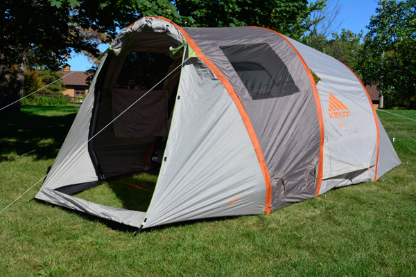 Kelty Mach 4 AirPitch Tent 4-Person & Kelty Mach 4 tent goes up with no poles | Doug Bardwell