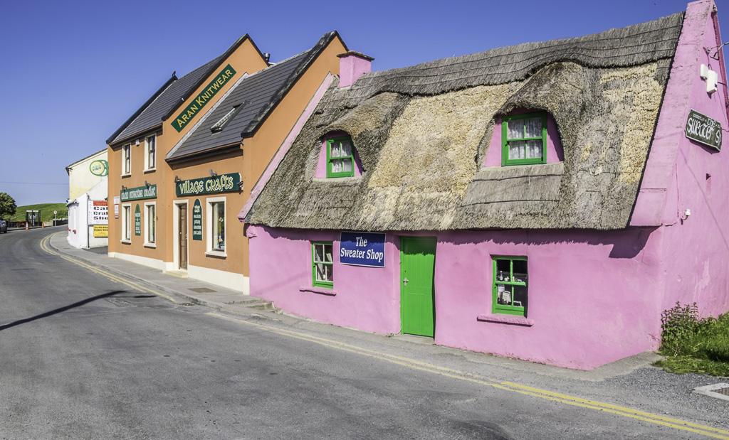 Doolin, Ireland for caves, castles and coastal walks
