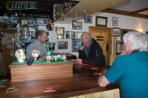 Bartley Brennan, proprietor of Leos Tavern, and brother of Enya