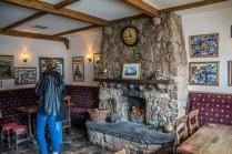 Leos Tavern fireplace