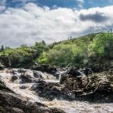 Waterfall at Kilcar, County Donegal