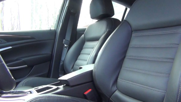 2015 Buick Regal GS AWD seating