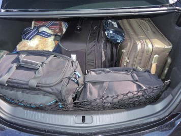 5 Suitcases fit in the trunk on the 2015 Buick Regal GS