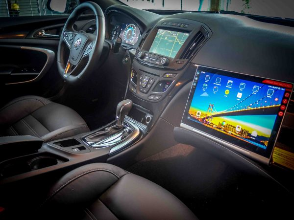 Using the Lenovo Yoga Tablet 2 Pro in the  2015 Buick Regal GS AWD