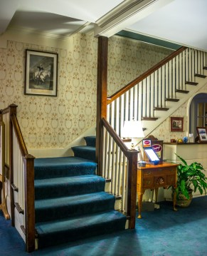 Deerfield Inn stairs