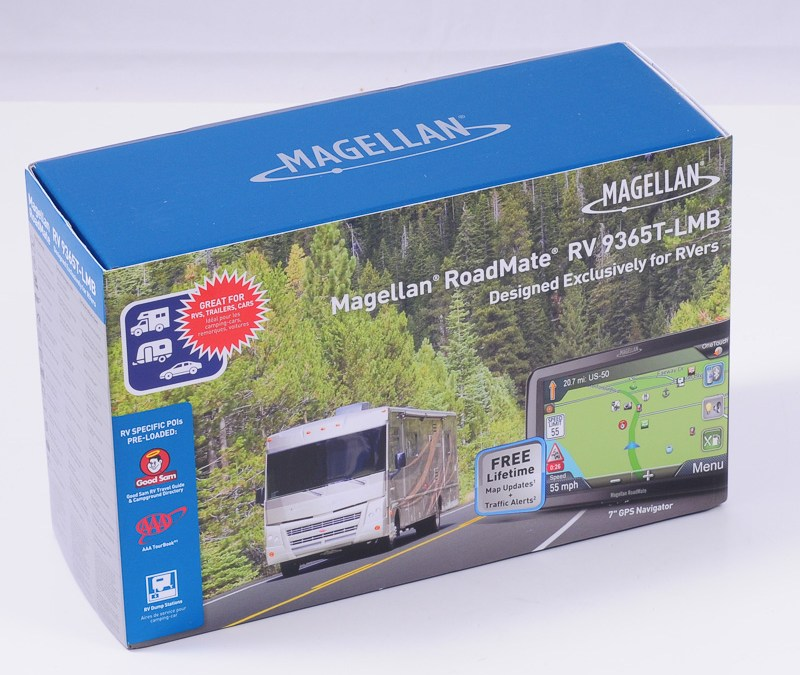 Magellan RoadMate RV9490T-LMB – an ideal GPS for RV travel