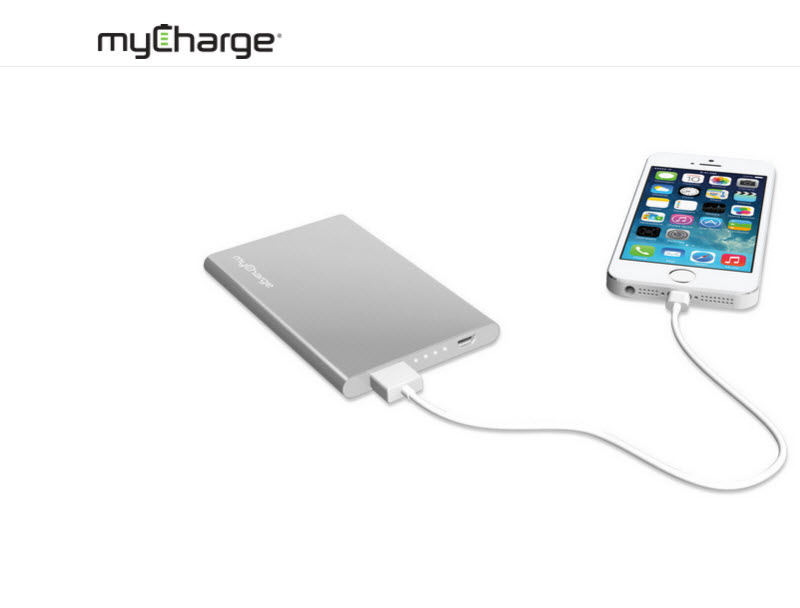 RazorPlus – the sleek battery pack from myCharge