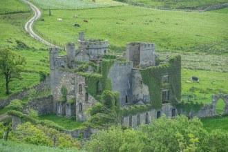 JOhn D'Arcy's abandoned castle