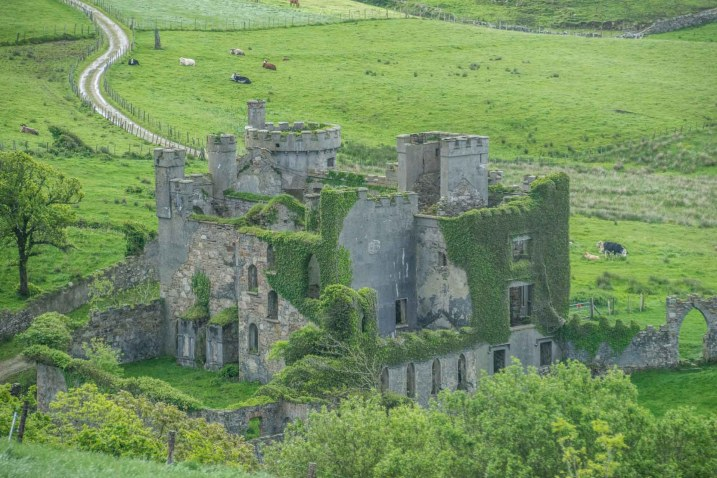 JOhn D'Arcy's abandoned castle