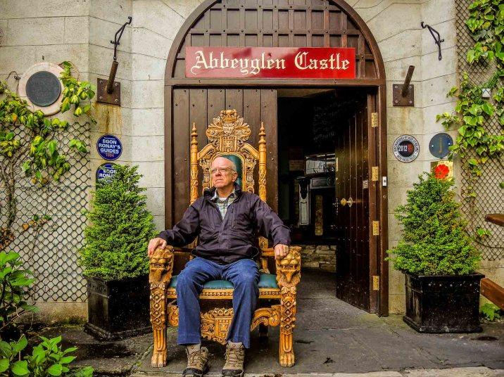 King of the Castle at Abbeyglen Hotel