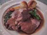 Lamb dinner at Abbeyglen