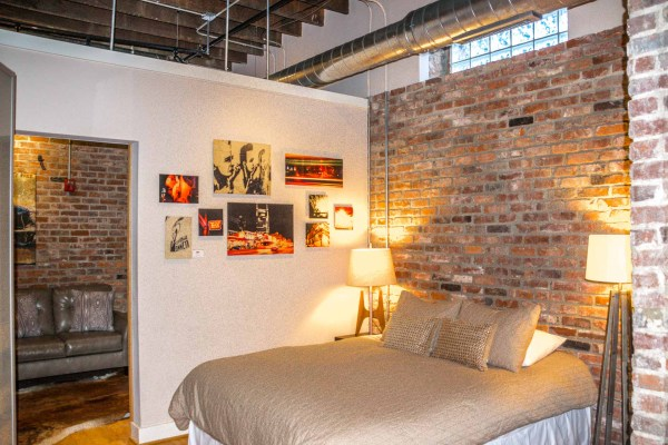 Music City Lofts bedroom