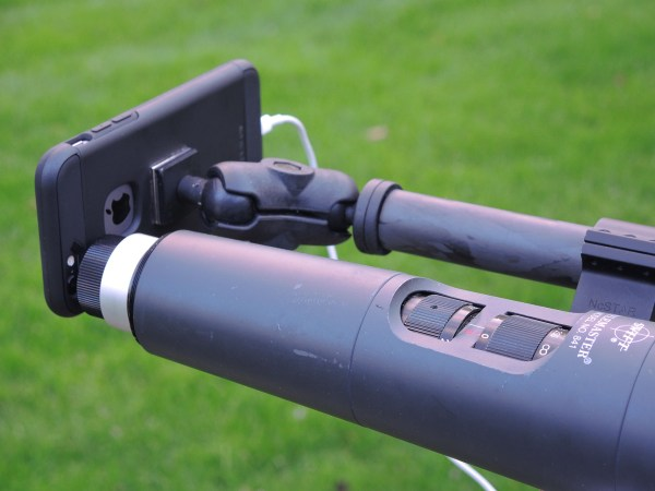 Smartphone Scope Mount  does not attach to your optics