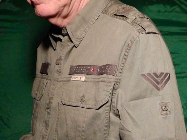Bushman Hammer Shirt with shoulder straps