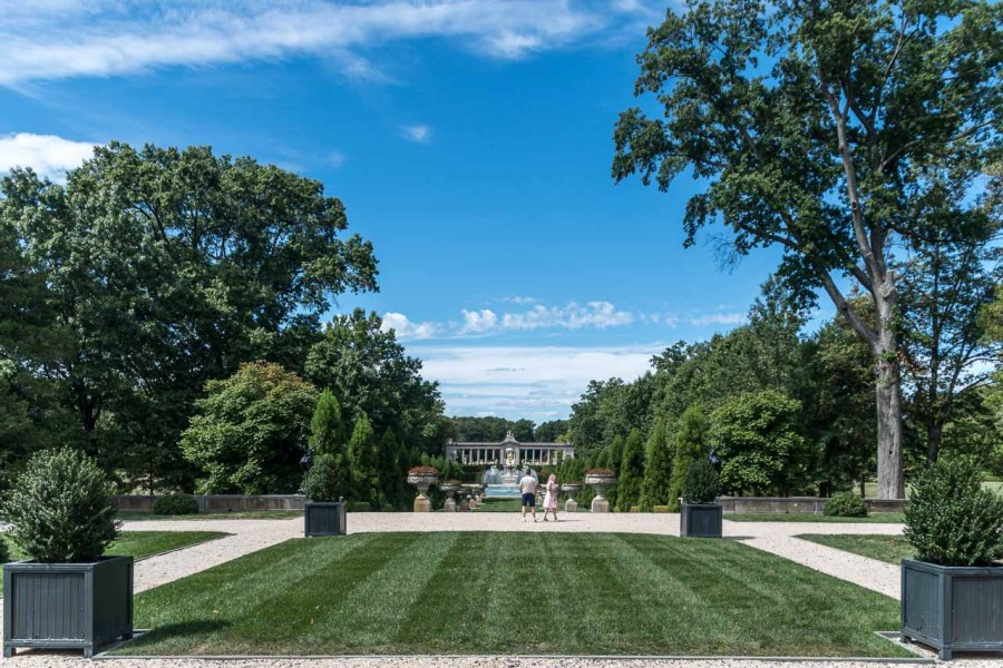 The Long Walk at Nemours Mansion and Estate