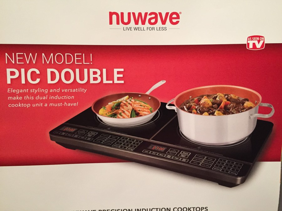 Pic Double features two induction cooktops in one countertop appliance