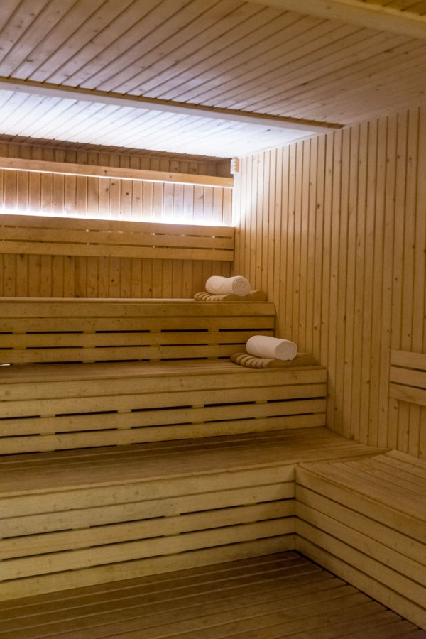The sauna at Awe Spa at Moon Palace Jamaica Grande