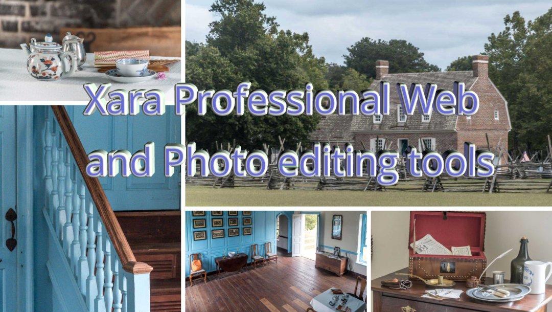 XARA PROFESSIONAL WEB AND PHOTO EDITING TOOLS