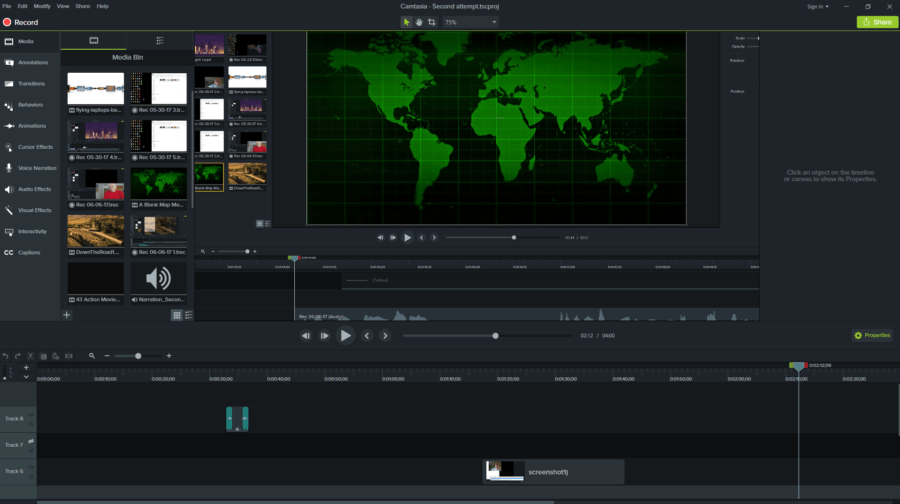 Camtasia 9 – robust video editing without breaking the bank