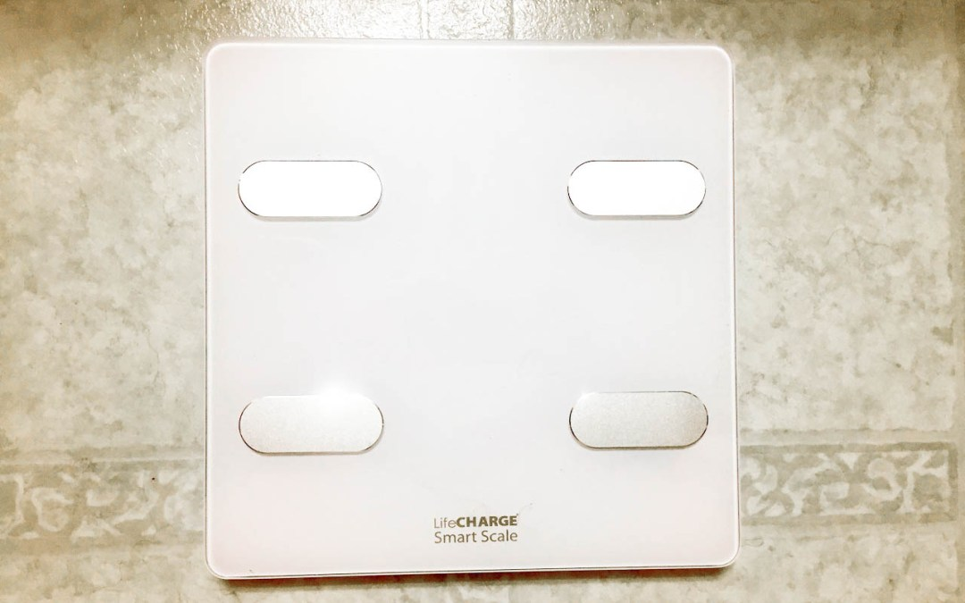 LifeCHARGE Smart Scale & Body Composition Analyzer connects with popular fitness apps