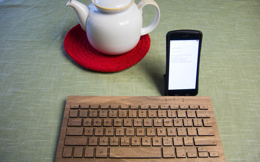 Oree Board Essential makes a statement, even before you begin typing
