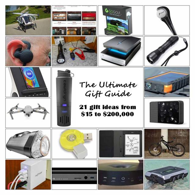 The Ultimate Gift Guide – 21 gift ideas from $15 to $200,000 | Doug