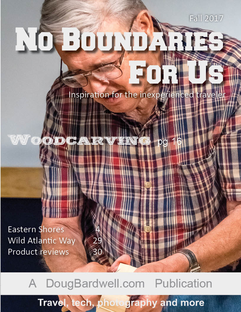 No Boundaries For Us - Fall 2017 issue