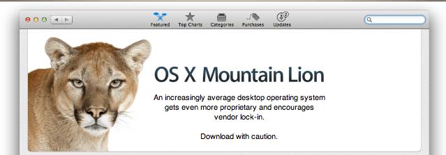 OSX Mountain Lion