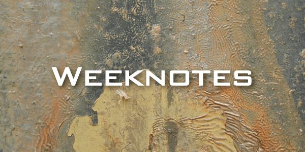 Weeknote 08/2013