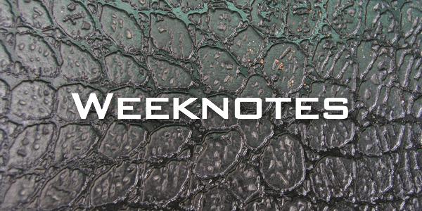 Weeknote 15/2013