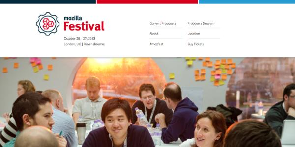 MozFest 2013 registration