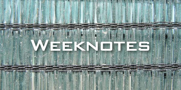 Weeknote 27
