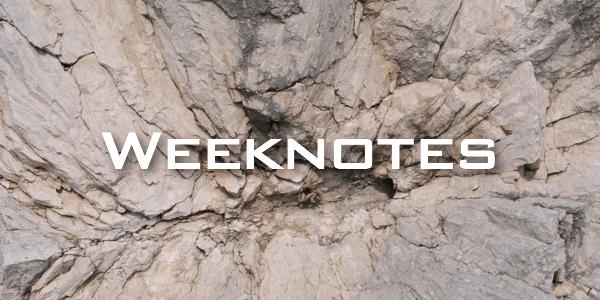 Weeknote 38/2013