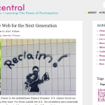 Reclaiming the Web for the Next Generation [DMLcentral]
