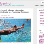 Curate or Be Curated: Why Our Information Environment is Crucial to a Flourishing Democracy, Civil Society [DMLcentral]