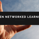 Open Networked Learning webinar