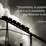 Wednesday Wisdom #33: Uncertainty