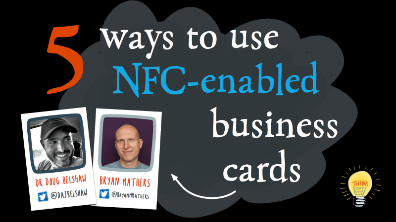5 ways to use NFC-enabled business cards