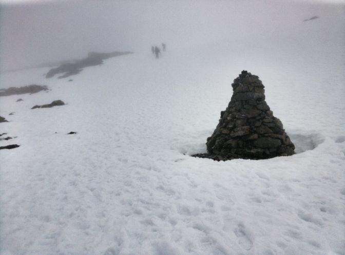Ascending Ben Nevis