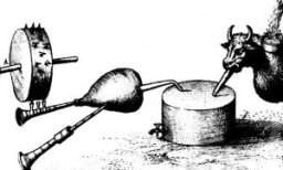 Robert Fludd's self playing bagpipe