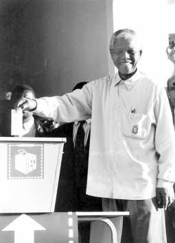 Nelson Mandela Voting