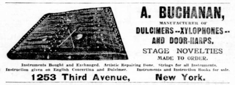 Hammered Dulcimers, Xylophones and Door-Harps, Oh My!