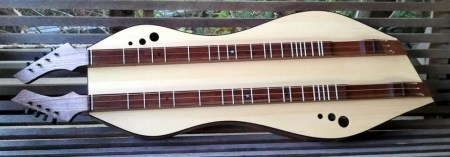 Combination baritone and standard dulcimer by Doug Berch