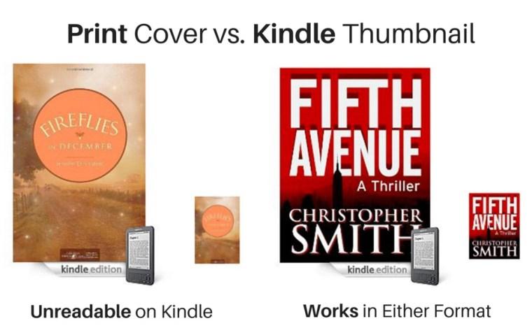KDP vs Print Cover