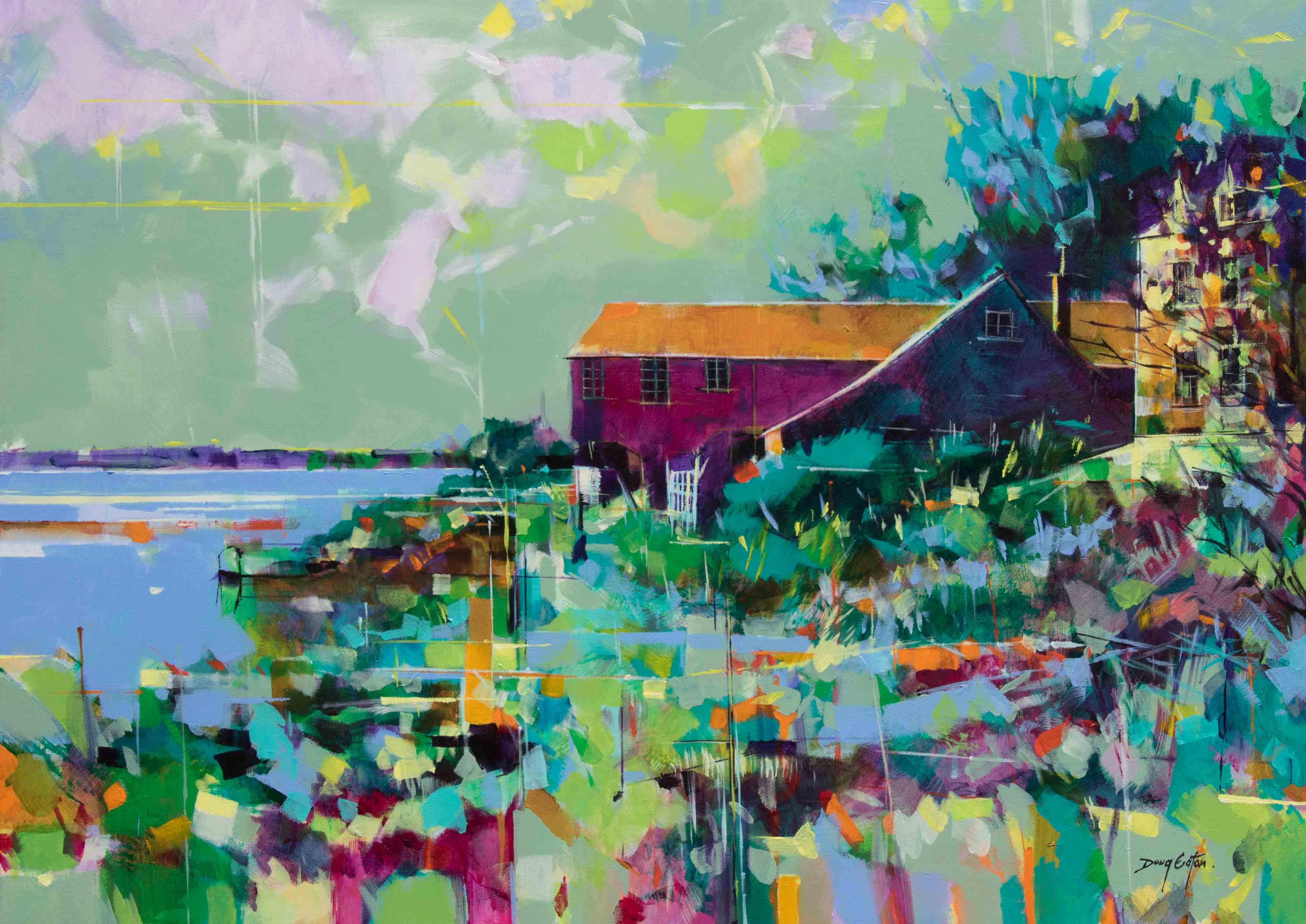doug-eaton-river-severn-painting