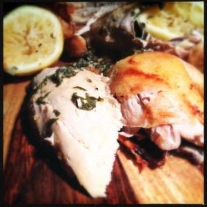 citrus and sage roast chicken