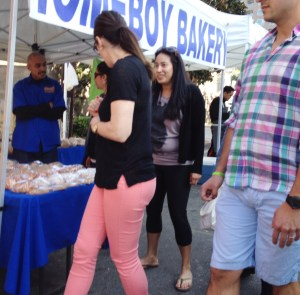 homeboy bakery hollywood farmers market