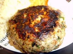 herby tuna burgers