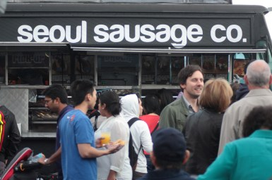 Seoul Sausage truck
